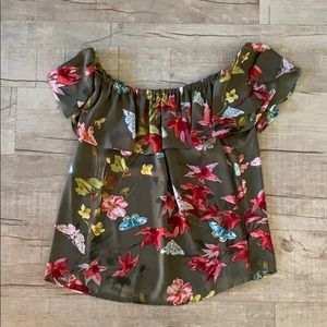 Anthropologie Off the Shoulder Top